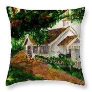Kihei Chapel Throw Pillow