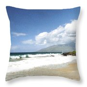 Kihei Throw Pillow