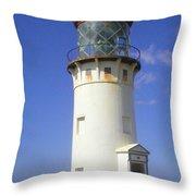 Kilaueau Lighthouse Throw Pillow
