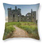 Kilchurn Castle Throw Pillow