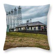 Kilgore  Depot Throw Pillow