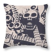 Kill The Music Industry Throw Pillow