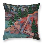 Killarney George Lake Sentinel Throw Pillow