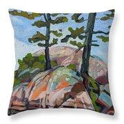 Killarney Point- The Phlip Side Throw Pillow
