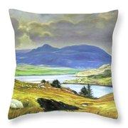 Killary Harbour County Mayo Throw Pillow