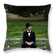 Killing Time Throw Pillow by Jorgo Photography - Wall Art Gallery