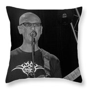 Kim Mitchell Throw Pillow