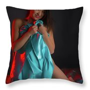 Kim  Throw Pillow