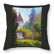 Kimberly Crest Throw Pillow