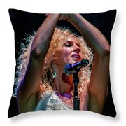 Kimberly Schlapman Throw Pillow