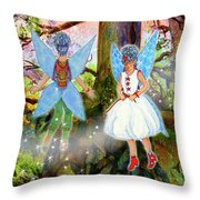 Kimlee And Kate Lorraine Throw Pillow