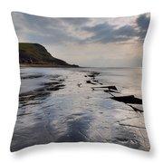 Kimmeridge Bay - England Throw Pillow