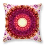 Kindness Mandala Art By Sharon Cummings Throw Pillow