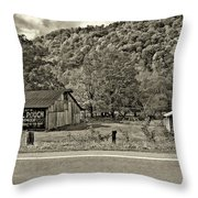 Kindred Barns Sepia Throw Pillow