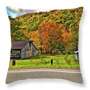 Kindred Barns Throw Pillow