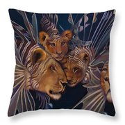 Kindred Lionfish Throw Pillow