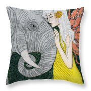 Kindred Souls Throw Pillow