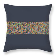 Kinetic Energy Throw Pillow