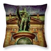 King Gustav  Throw Pillow