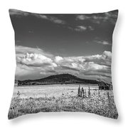 King Homestead_bw-1593 Throw Pillow
