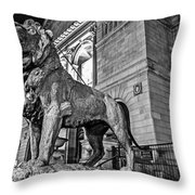 King Of Art Throw Pillow