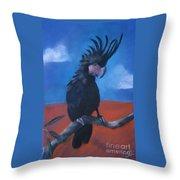 King Of Cockatoos Throw Pillow