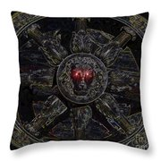 King Of Constellations Throw Pillow