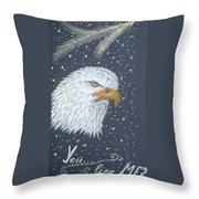 King Of Heights Throw Pillow