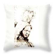 King Of Kings And Lord Of Lords Throw Pillow
