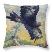 King Of The Air Throw Pillow