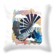 King Of The Beat Throw Pillow