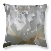 King Of The Flowers Throw Pillow