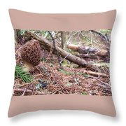King Of The Forest Throw Pillow