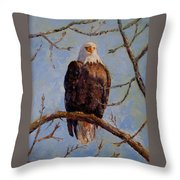 King Of The Mississippi Throw Pillow