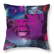 King Of The Ring Throw Pillow
