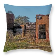 King Of The Rubble Throw Pillow