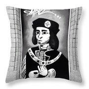 King Richard Throw Pillow