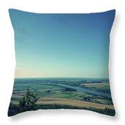 King River Throw Pillow