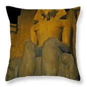 King Tut At The Luxor Hotel Throw Pillow