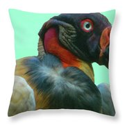 King Vulture II Throw Pillow