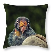 King Vulture Throw Pillow