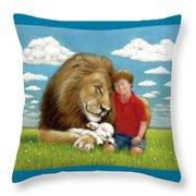 Kingdom Friends Throw Pillow