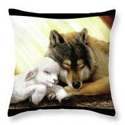 Kingdom Peace Throw Pillow