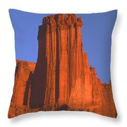 612706-kingfisher Tower  Throw Pillow