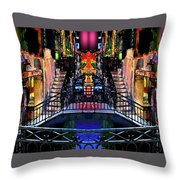 Kingly Venice Reflection Throw Pillow