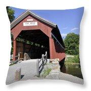 King's Bridge Throw Pillow