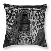 King's Burial Chamber Throw Pillow