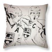 Kings Captains Throw Pillow