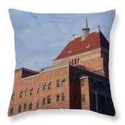 Kings County Hospital Center, Brooklyn Throw Pillow