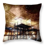 Kings Rolling Towers Throw Pillow